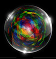 abstract bubble vector image
