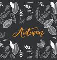 fall autumn season vector image vector image