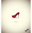 Logo shoe store fashion collection boutique label vector image vector image