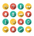 Set of Biking Icons vector image vector image