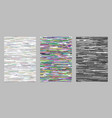 Abstract horizontal stripe background brochure vector image