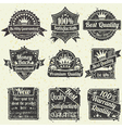 Best quality and guarantee labels vector | Price: 1 Credit (USD $1)