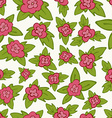 bright floral seamless pattern - flower vector image