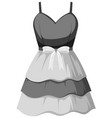 isolated beautiful female outfit vector image vector image