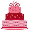 Pink cake vector | Price: 1 Credit (USD $1)