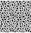 polka dot grunge seamless pattern vector image vector image
