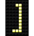 Scoreboard letter icon