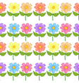 A floral seamless design vector image vector image