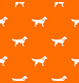 dog pattern seamless vector image