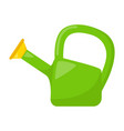 kid toy watering can vector image vector image