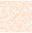 orange square pattern seamless background vector image vector image