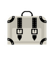 travel bags suitcase for travel and business trips vector image