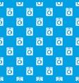 washing machine pattern seamless blue vector image