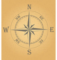 ancient wind rose 02 vector image