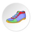 Athletic shoe icon cartoon style vector image vector image