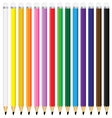 Beautiful pencil isolated on white background vector image