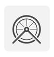 bike part icon vector image