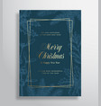 merry christmas abstract greeting card or vector image vector image