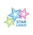 star logo vector image vector image