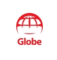 abstract logo Globe vector image vector image
