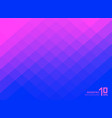 abstract pink and blue gradient color squares vector image vector image