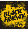 black friday design with ihk blot big christmas vector image