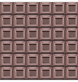 Chocolate seamless pattern background vector image