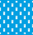 fridge pattern seamless blue vector image