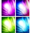 Set of shiny backgrounds vector | Price: 1 Credit (USD $1)