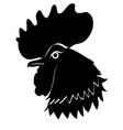 Silhouette of cock vector | Price: 1 Credit (USD $1)