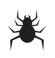 spider icon design vector image