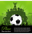 Soccer Winning team vector image vector image