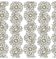 Vintage floral print seamless background vector image vector image