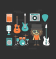 427rock musician and gadgetVS vector image vector image