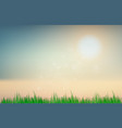 abstract sunset sky blurred gradient background vector image vector image
