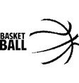 basket ball sprots vector image