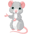Cute Cartoon Rat vector image