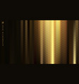 golden fabric with smooth crease and folds vector image vector image