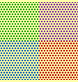 set of seamlessly repeatable dotted polka dot vector image