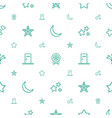 star icons pattern seamless white background vector image vector image