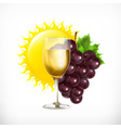 Winery isolated vector image