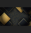 abstract layered geometric shape background vector image vector image