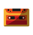 audio cassette icon image vector image