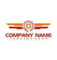 camera photo studio corporate logo template vector image vector image