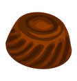 chocolate icon cartoon style vector image