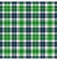 green and blue tartan plaid scottish pattern vector image vector image