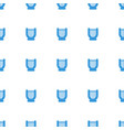 harp icon pattern seamless white background vector image vector image