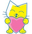 Love Pet vector image