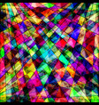 polygons psychedelic bright abstract geometric vector image