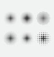 Set halftone pattern for comics design element